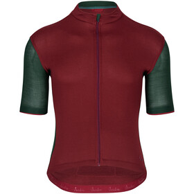 Isadore Signature Cycling 2.0 Maillot à manches courtes Homme, cabernet/sycamore